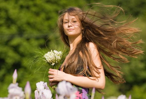Лёгкие волосы