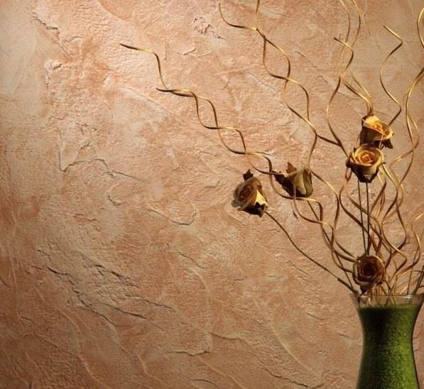 Декоративная фактурная краска для стен: особенности выбора