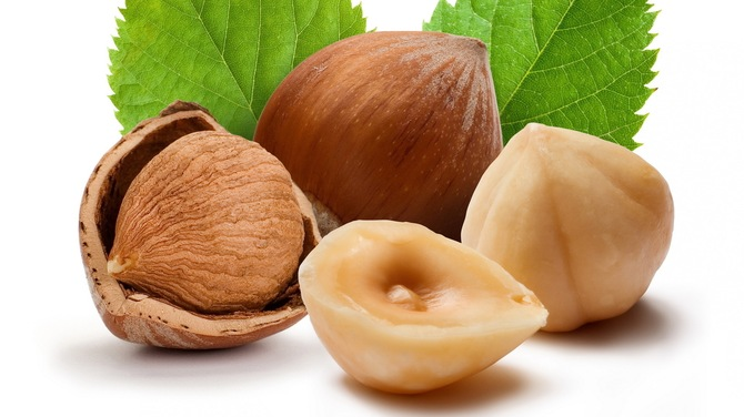 Орехи вроли скрабов