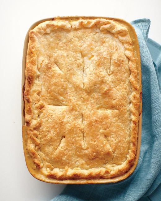 Как сделать быстрый пирог с курицей