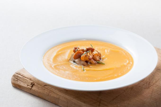 Как приготовить крем-суп из лисичек