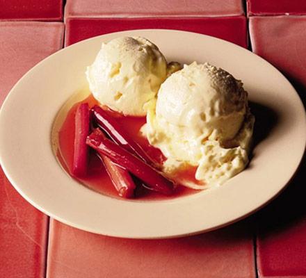 Как сделать мороженое со взбитыми сливками и имбирем