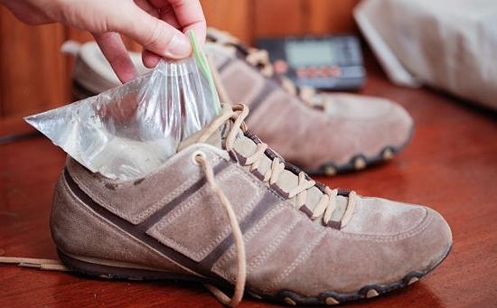 Растяжка обуви заморозкой