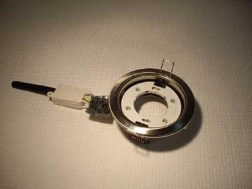 Это светильник с цоколем GX 53