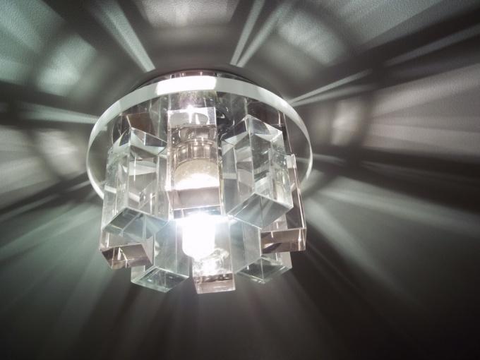 Декоративный светиьник с цоколем 6,35