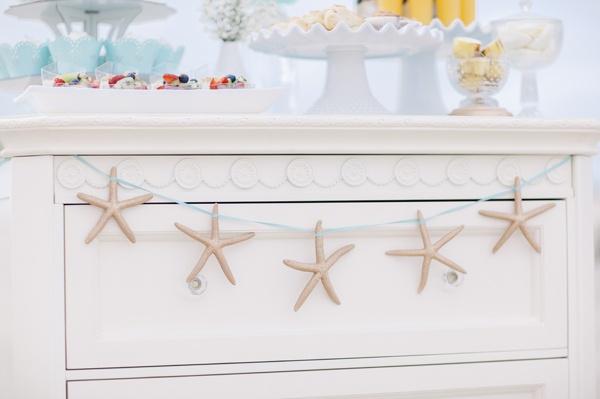 Как сделать гирлянду из морских звёзд