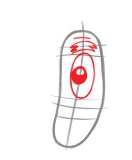 Как нарисовать Планктона из Губки Боба