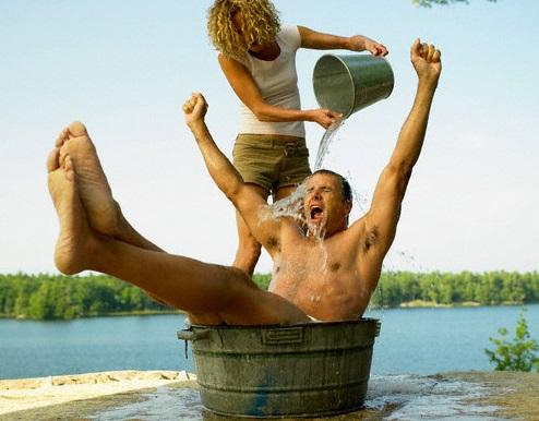 Как избавиться от обвисшей кожи после похудения - контрастный душ