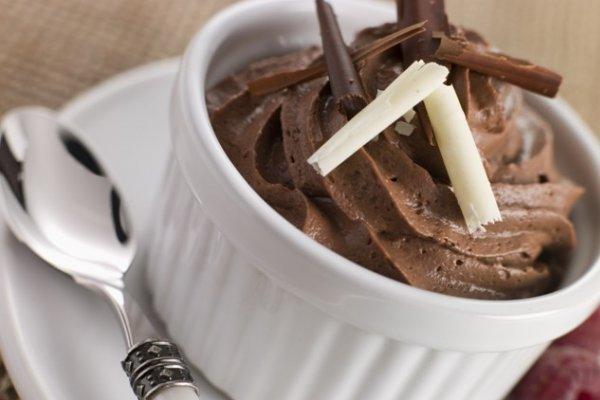 Зимнее лакомство: шоколадный мусс