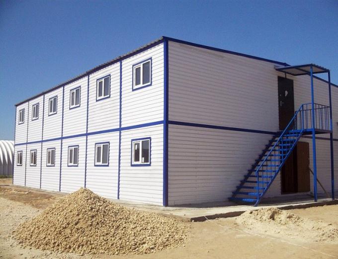 Этапы строительства модульных зданий