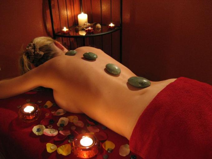Массаж горячими камнями - польза и противопоказания