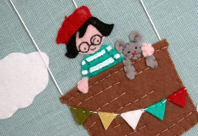 Такие коврики очень нравятся малышам и украшают детскую