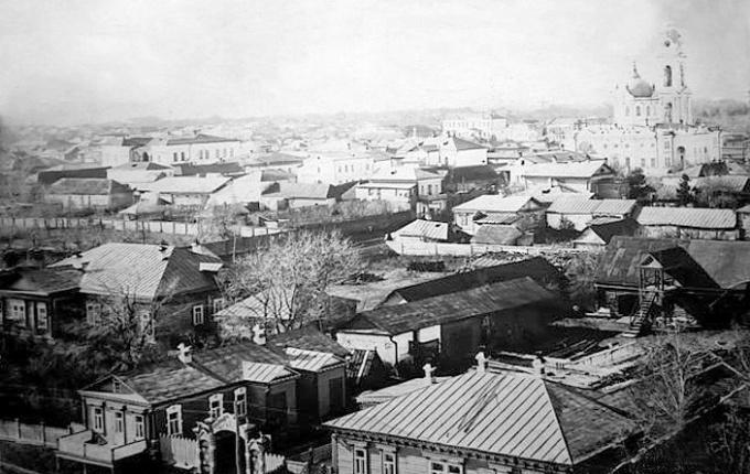 Панорама города, XVIII век