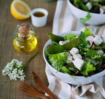 Виды лёгких салатов