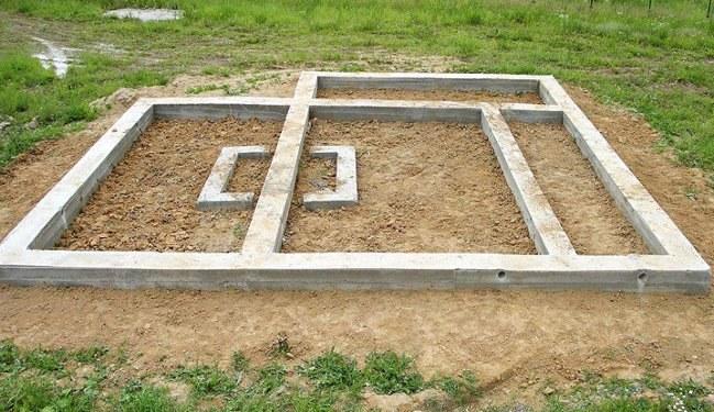 Секреты строительства ленточного фундамента