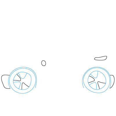 Как нарисовать спорткар