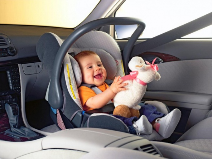 Safest place to secure a child seat in the car?