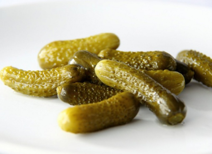 How to pickle gherkins?