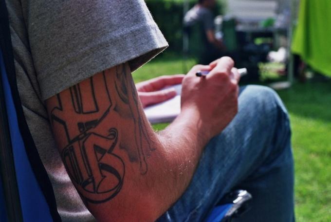 Harmful tattoo for health