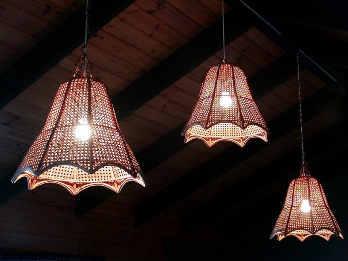 How to make a chandelier with his own hands?