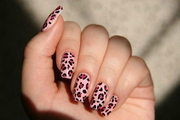 """Как сделать рисунок """"леопард"""" на ногтях?"""