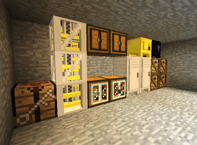 """Холодильник и другие предметы обихода - лучший способ обустроить жилище в """"Майнкрафт"""""""