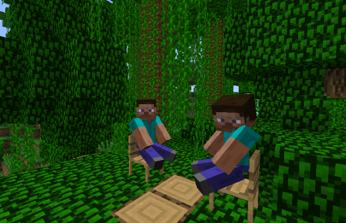 To play Minecraft is always more fun with someone together