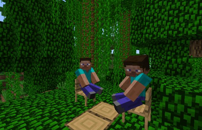 Играть в Minecraft всегда веселее с кем-то вдвоем