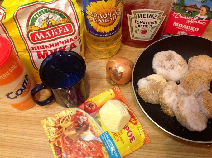 Набор продуктов для лазаньи