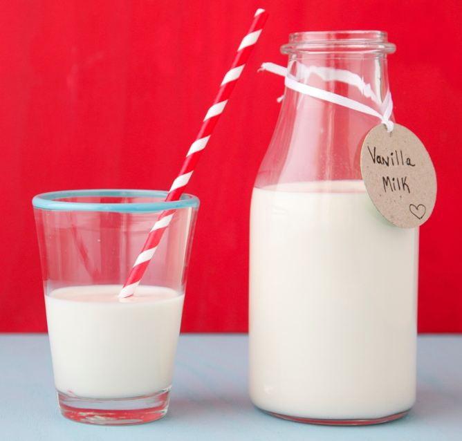Как сделать домашнее ванильное молоко