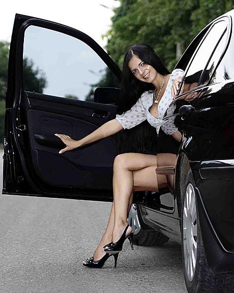 Женщина за рулем- это красиво!