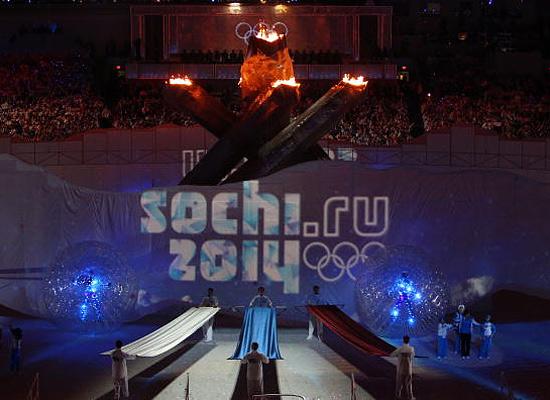 Церемония открытия Олимпиады 2014 в Сочи