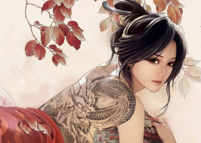 Что означает тату с драконом