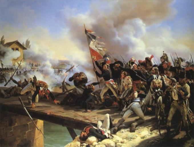 В какой военной форме русская армия громила Наполеона