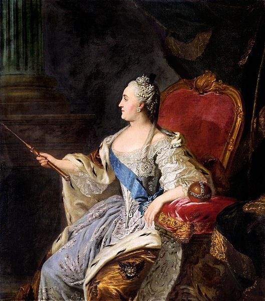 Екатерина II как политик