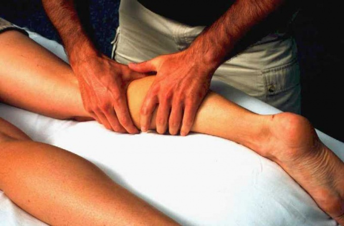 Athletic massage will free the muscles from toxins.