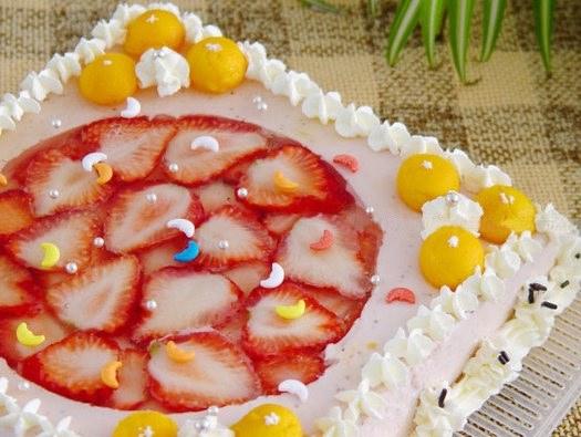 Рецепт клубничного торта