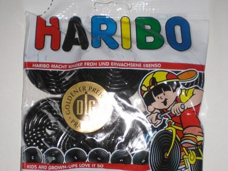 Резиновые карамельные рулоны Haribo Rotella