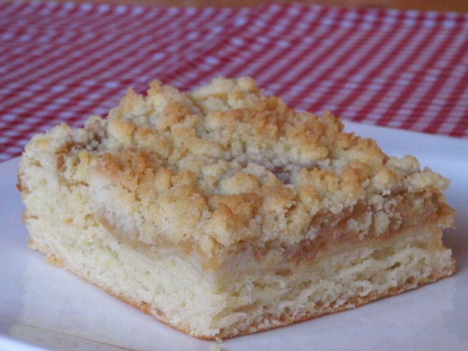 Пирог со штрейзелем