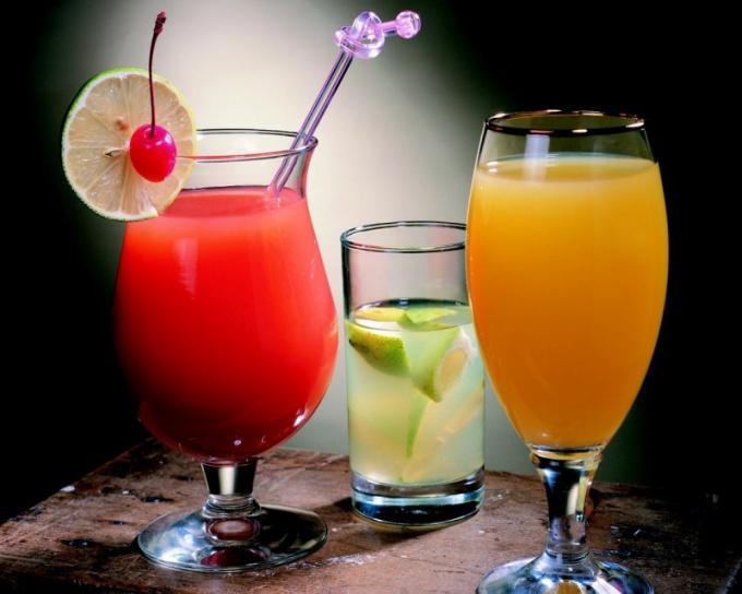 Домашние алкогольные коктейли
