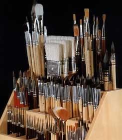 Artistic brushes