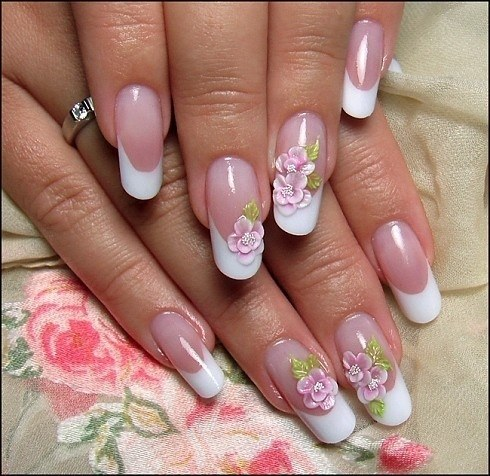 Nail extensions at home