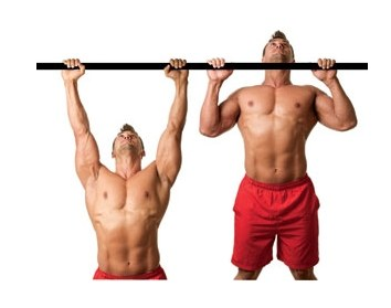 A very important pull-UPS and push-UPS.