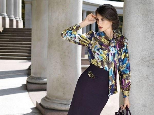 Легкая блуза - базовая вещь в летнем гардеробе!