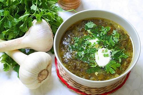 зеленые супы рецепты без щавеля