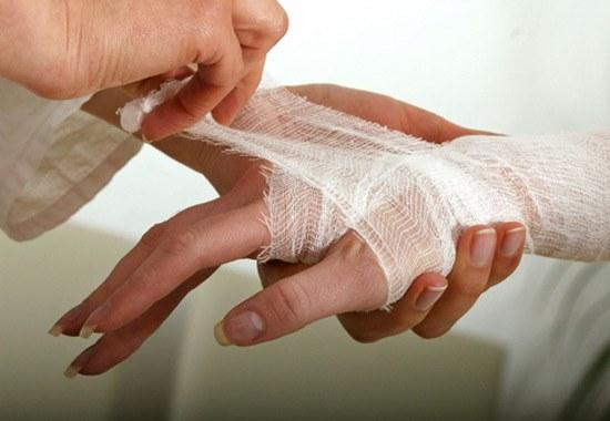 Что делать при открытом ранении