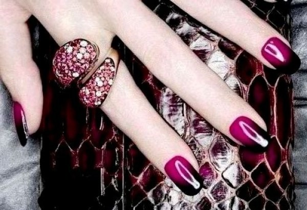 How to make a manicure ombre