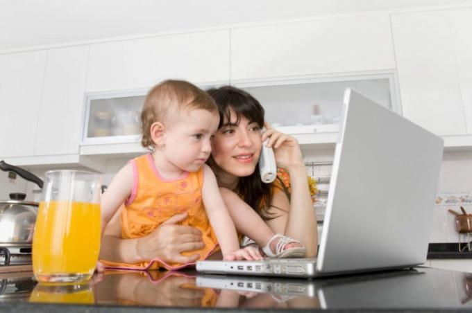 Работа на дому для родителей
