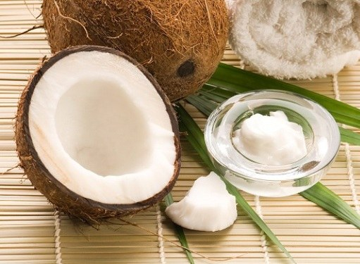 Home cosmetics from coconut