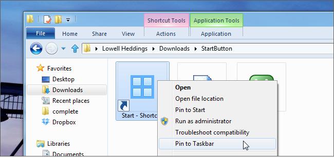 Как создать свою собственную кнопку Пуска в Windows 8